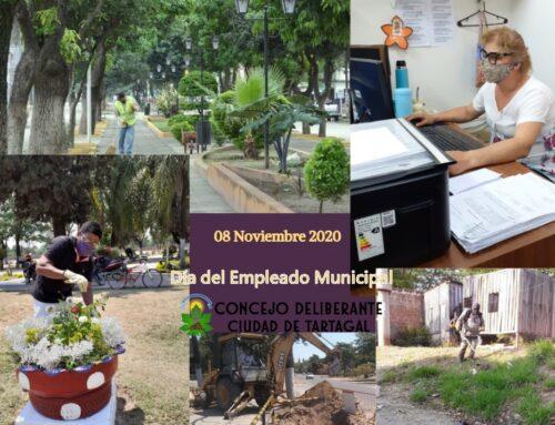 Domingo 8 de noviembre Día del Empleado Municipal