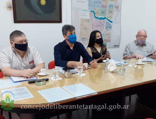Concejales se reunieron con el Secretario de Hacienda Municipal