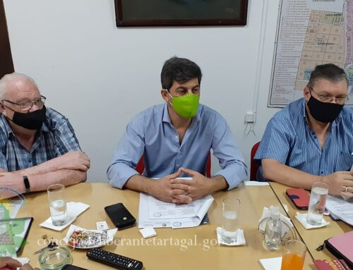 Presupuesto 2.021: Concejales recibieron al Secretario de Hacienda Sergio Jure