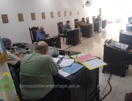 Con el Presupuesto 2021 sesionó el Concejo de Tartagal