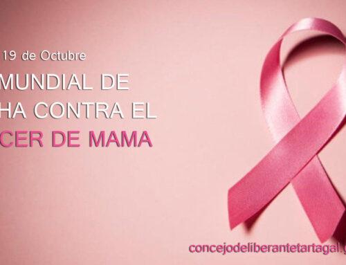 "19 de Octubre ""DIA MUNDIAL DE LUCHA CONTRA EL CANCER DE MAMA"""