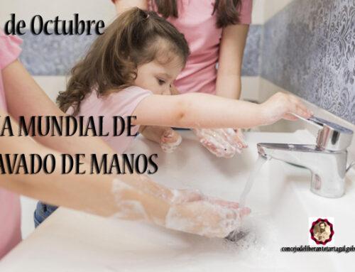 "15 DE OCTUBRE ""DIA MUNDIAL DE LAVADO DE MANOS"""